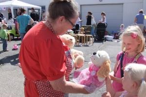 Bamsefest i Farmorhuset 16/7-2011