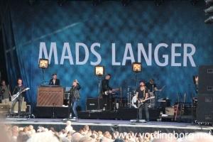 Mads Langer koncert - Vordingborg Festuge 2013