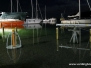 Høj vandstand i Vordingborg Nordhavn