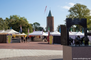 Internationalt madmarked på Slotstorvet i Vordingborg