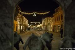 Juletræ og ny gadebelysning 28. november 2014