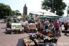 Lørdagsmarked på Slotstorvet