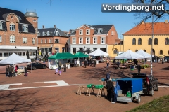 Marked på Slotstorvet 4. april 2015