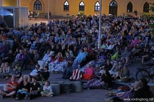 Open Air film på Slotstorvet Vordingborg - 23. juli 2014
