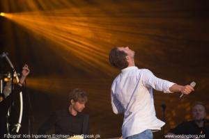 Rasmus Seebach koncert på Vordingborg Slotsruin