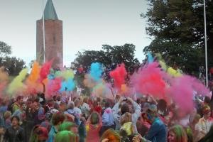 "\""Artonik\"" - \""The Color of Time\"". Slotstorvet Vordingborg, 28. august 2015 Waves Festival 2015"