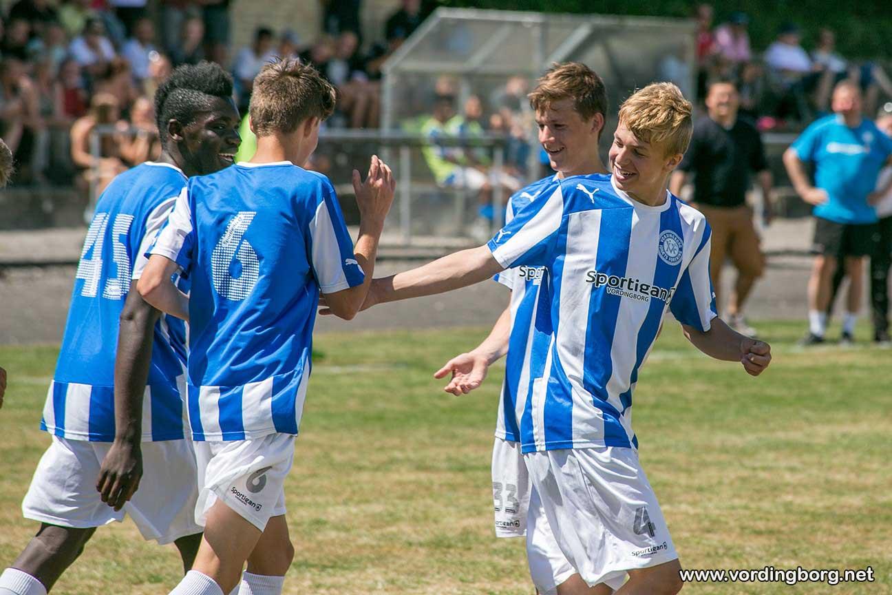 Vordingborg vandt 5-3 over Hillerød