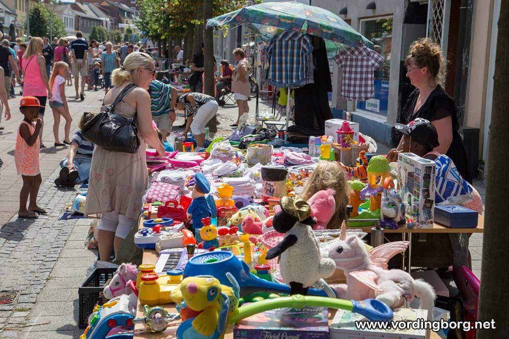 Børnekræmmermarked i Algade