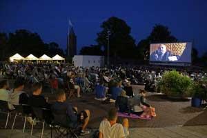 Open Air film på Slotstorvet - Spies og Glistrup
