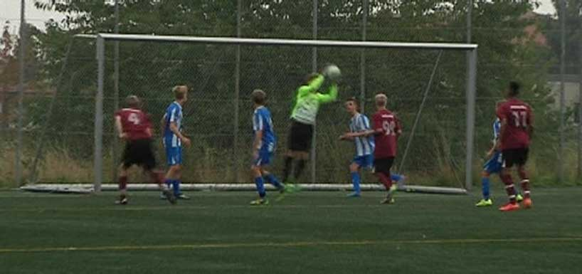 "Roskildes keeper ""snød"" VIF u-17 for 3 point"