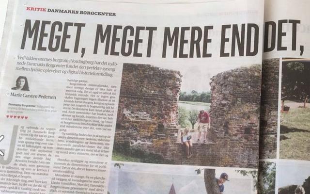 6 ud af 6 hjerter til Danmarks Borgcenter