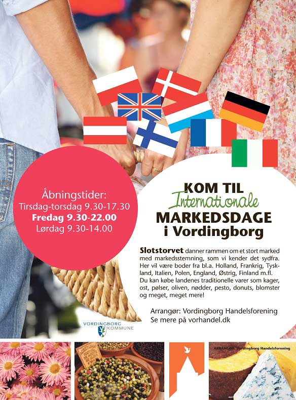 Internationale markedsdage i Vordingborg