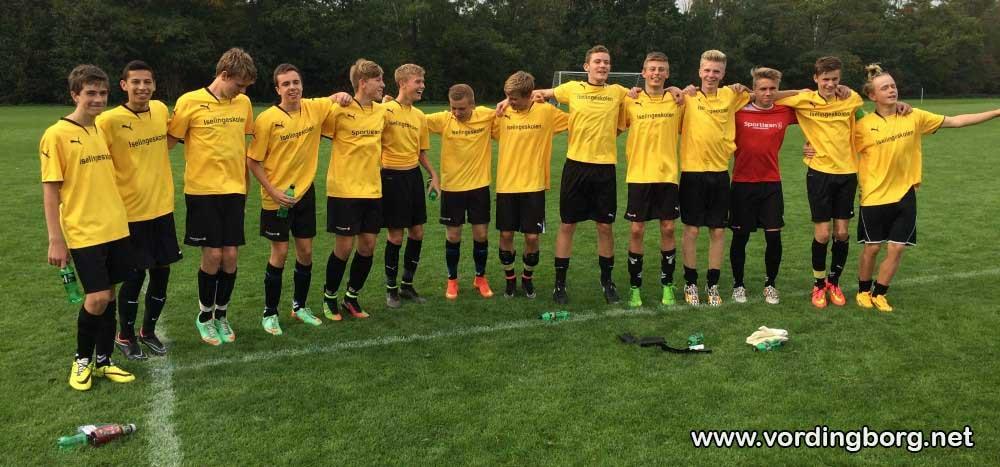 Gåsetårnskolen videre i Ekstrabladets Skolefodbold