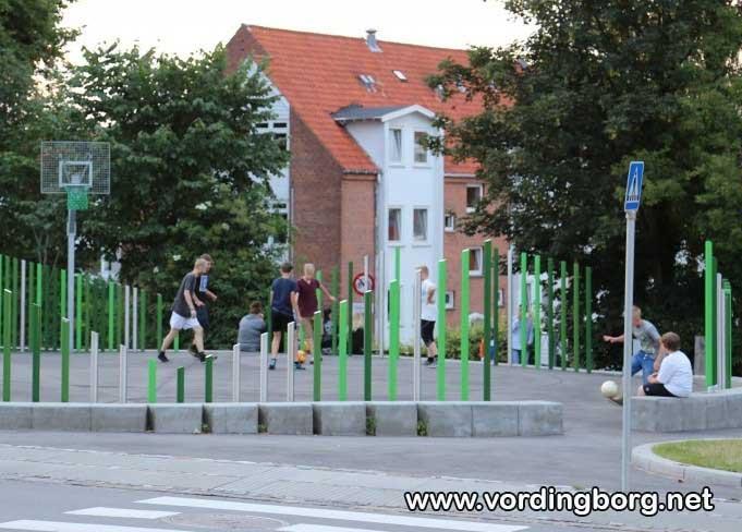 Boldbane i centrum af Vordingborg