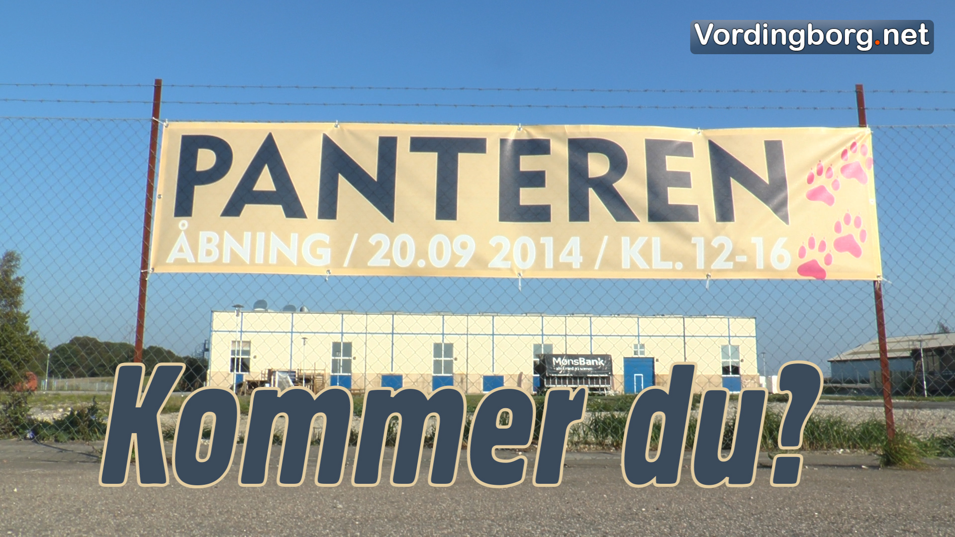 Husk: Det er lørdag Panteren åbner