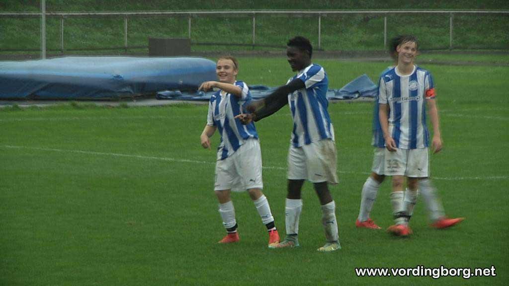 Fodbold: Vordingborg IF's U-17 drenge var tæt på at overraske