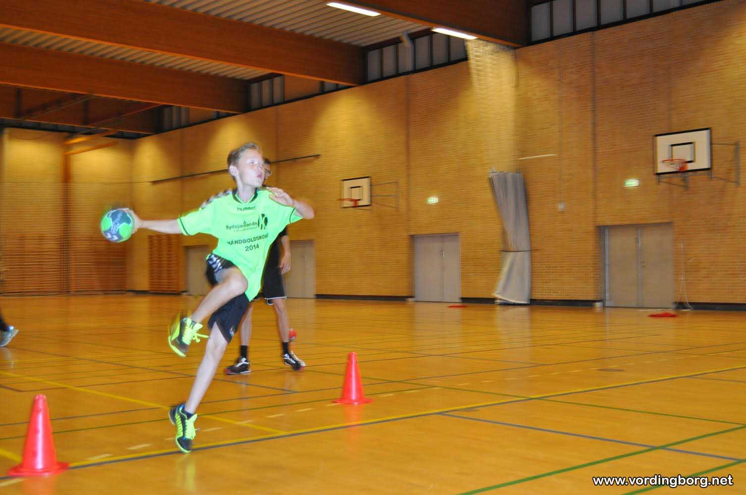 Sydsjællands Håndboldklub`s Håndboldskole 2014