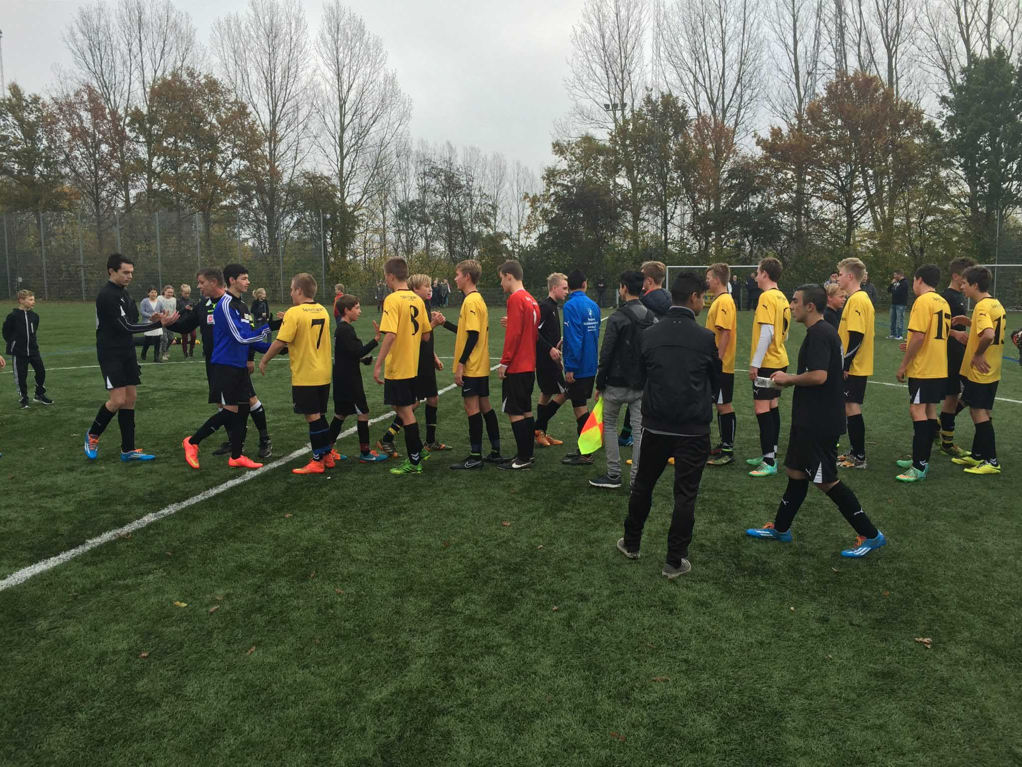 Fodbold: Gåsetårnskolen i kredsfinale, både piger og drenge.