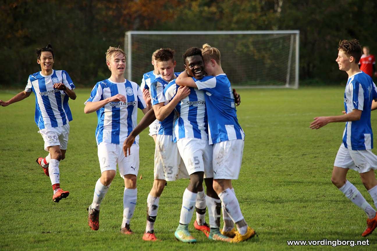 Fodbold: VIF U-17 bliver i 3. division