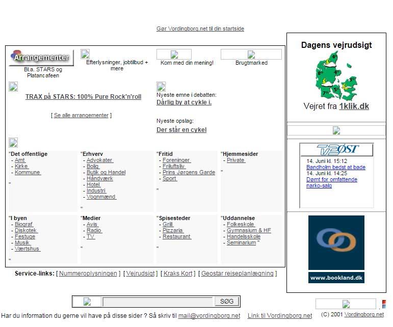 Vordingborg.net 2001