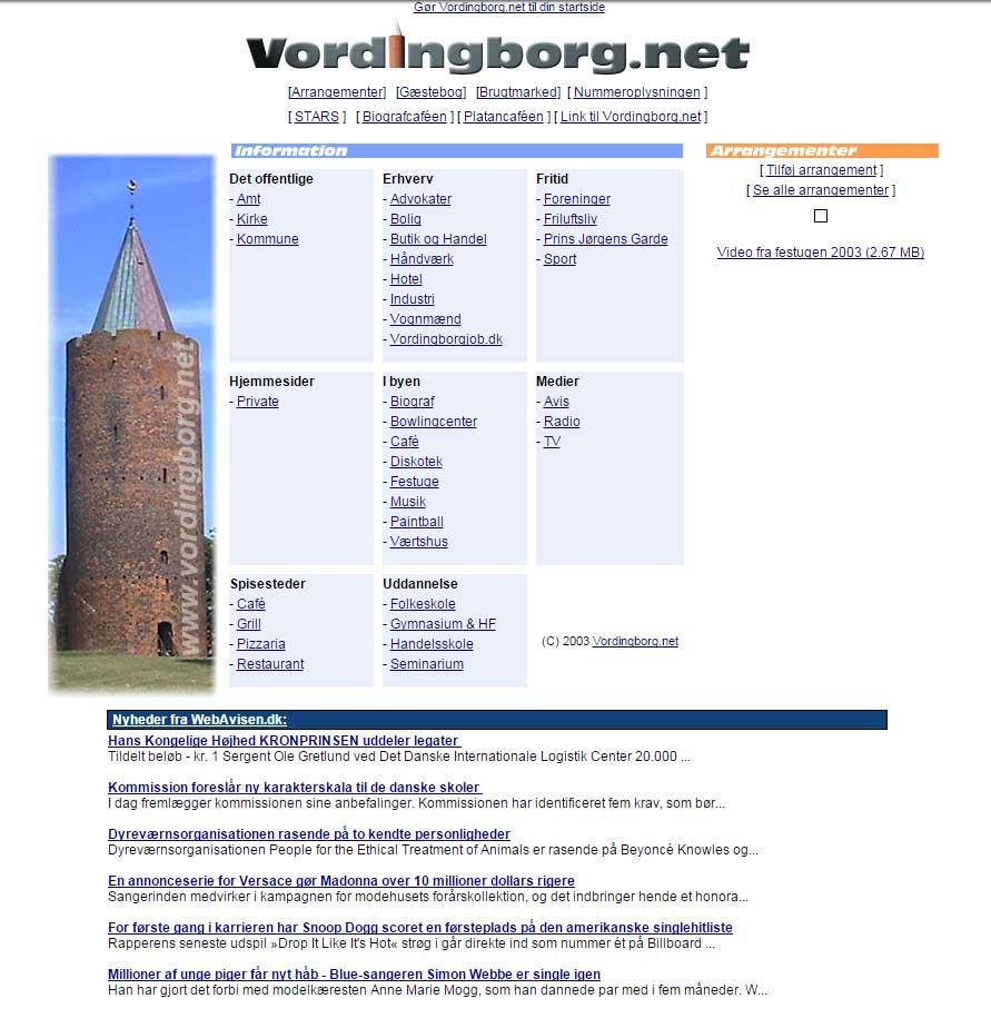 Vordingborg.net 2004