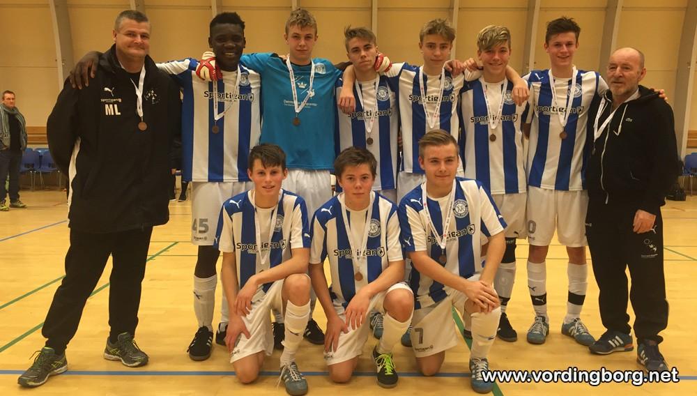 Fodbold: VIF U17-drenge sluttede sæsonen af med bronze