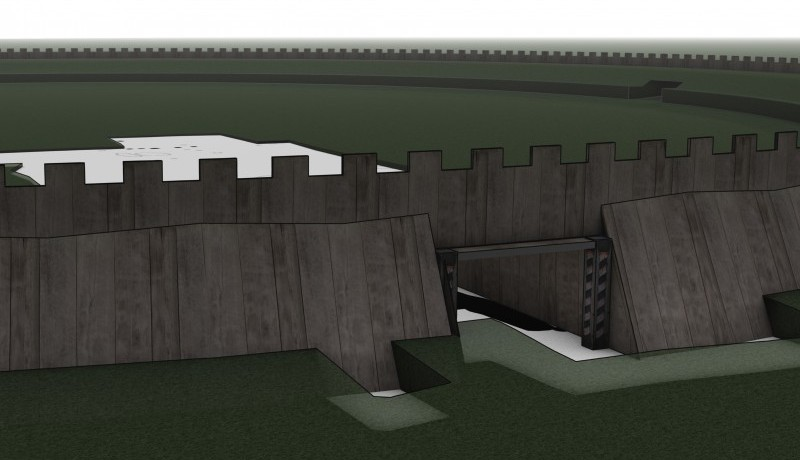 3D-reconstruction-of-the-northern-gateway-of-the-Viking-fortress-Borgring