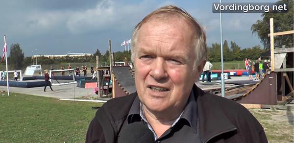Borgmester Knud Larsen