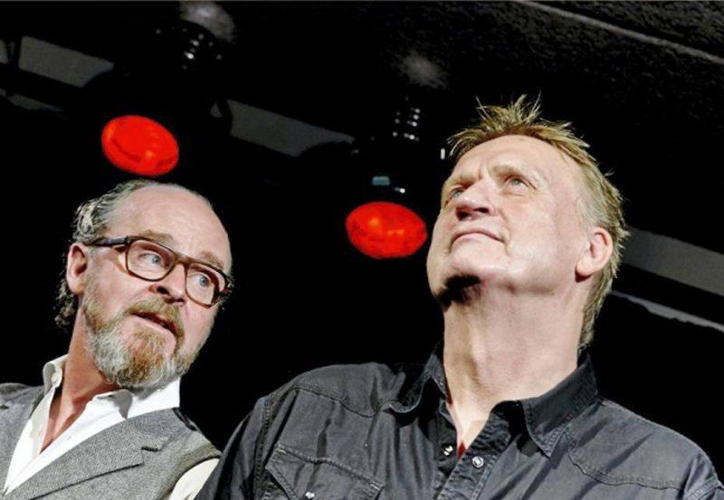 Henrik Strube og Pete Repete