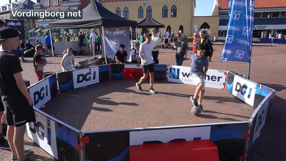 Kulturnat i Vordingborg med stort sportsevent på Slotstorvet [Video]