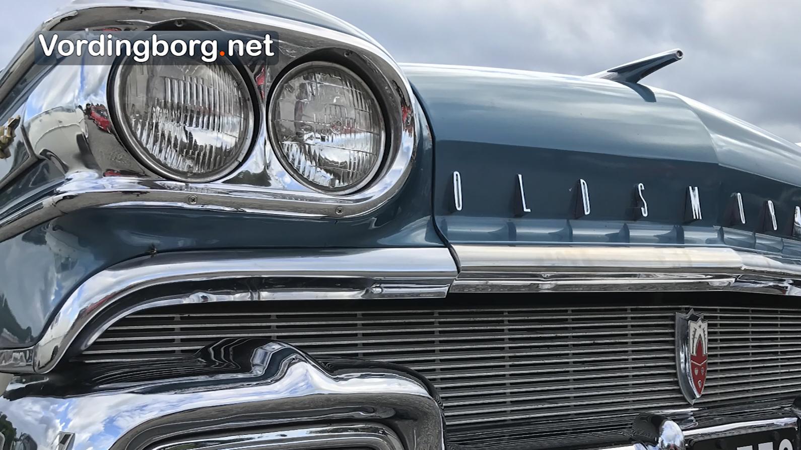 Flotte gamle biler på Nordhavnen i Vordingborg [Video]