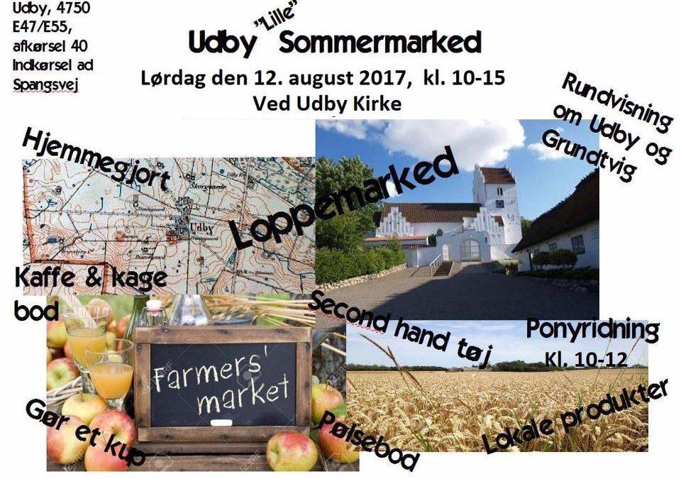 Sommermarked i Udby