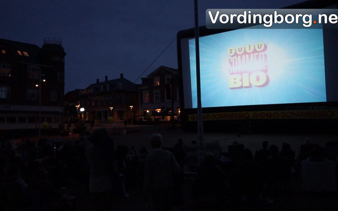 Gratis film på Slotstorvet var igen en succes [video]
