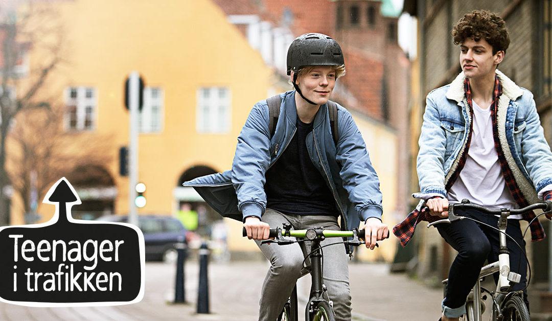 Teenager i trafikken – de ældste skolebørn kommer oftest til skade i trafikken