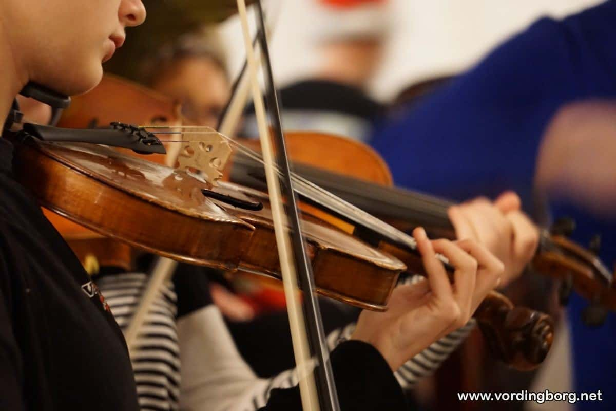 Julekoncert med Vordingborg Musikskole i Stege Kirke og Vordingborg Kirke