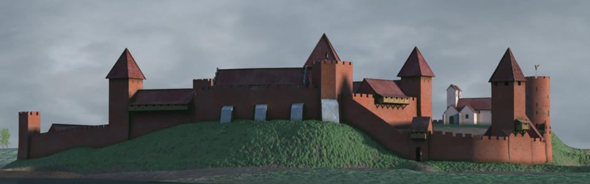 Kongens Huse – foredrag om bl.a. Kongeborgen i Vordingborg, der var den største i Danmark i Middelalderen