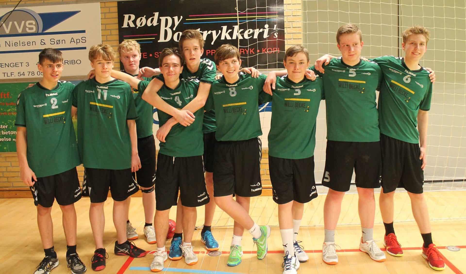 Der er plads til flere U16 spillere i Sydsjællands Håndboldklub