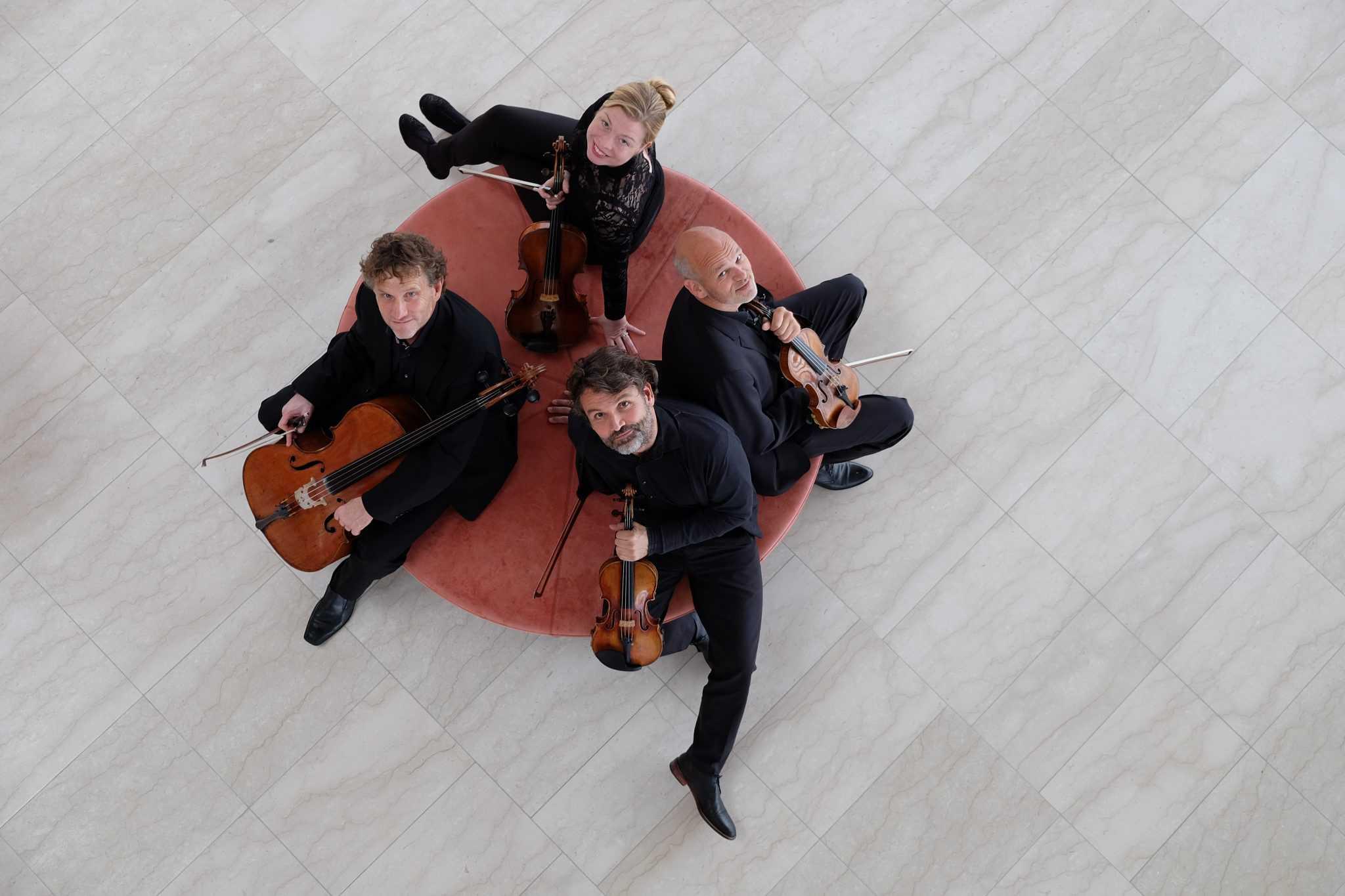 Alle Beethovens strygekvartetter i Nordfalsters Koncerthus