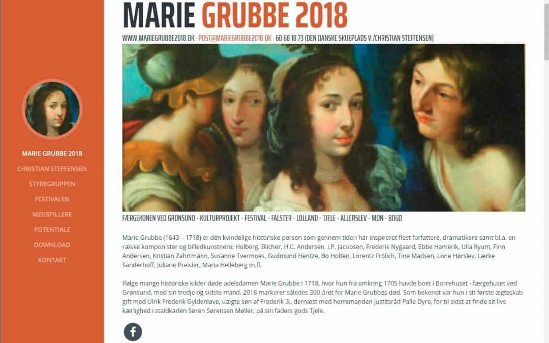 300 året for Marie Grubbes død markeres med stort anlagt festival – og du kan bidrage med idéer