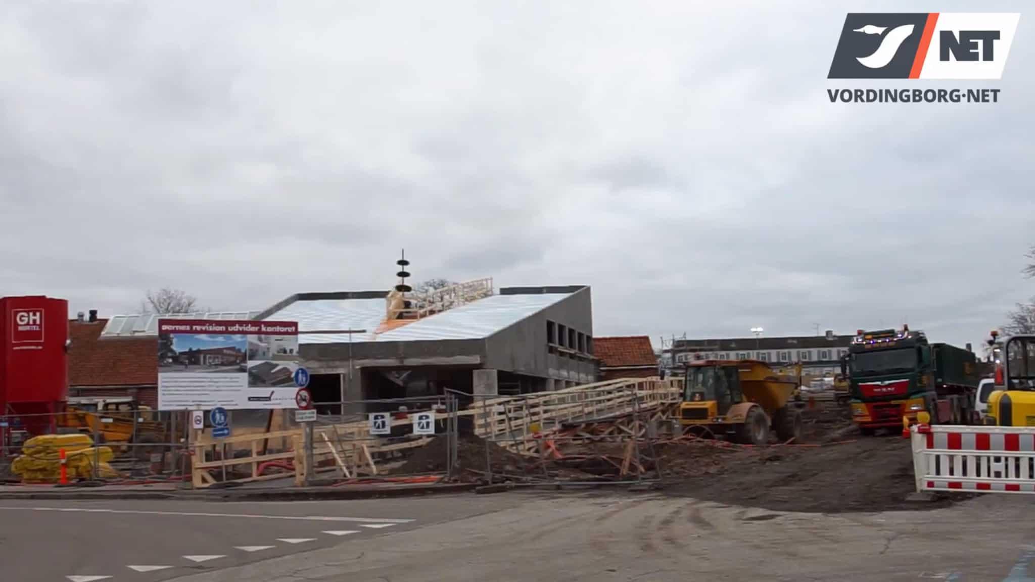 Rejsegilde for udvidelse af en markant bygning i Vordingborg [Video]