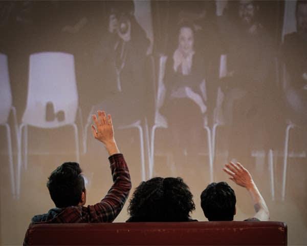 Italiensk teater i Medborgerhuset i Vordingborg