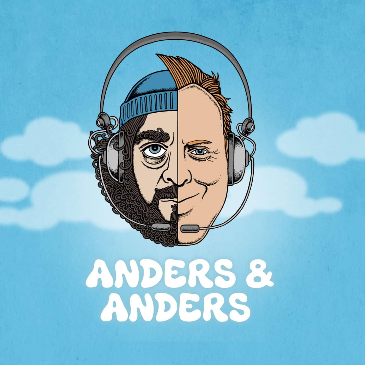 Anders Breinholt og Anders Lund Madsen optager podcast på STARS