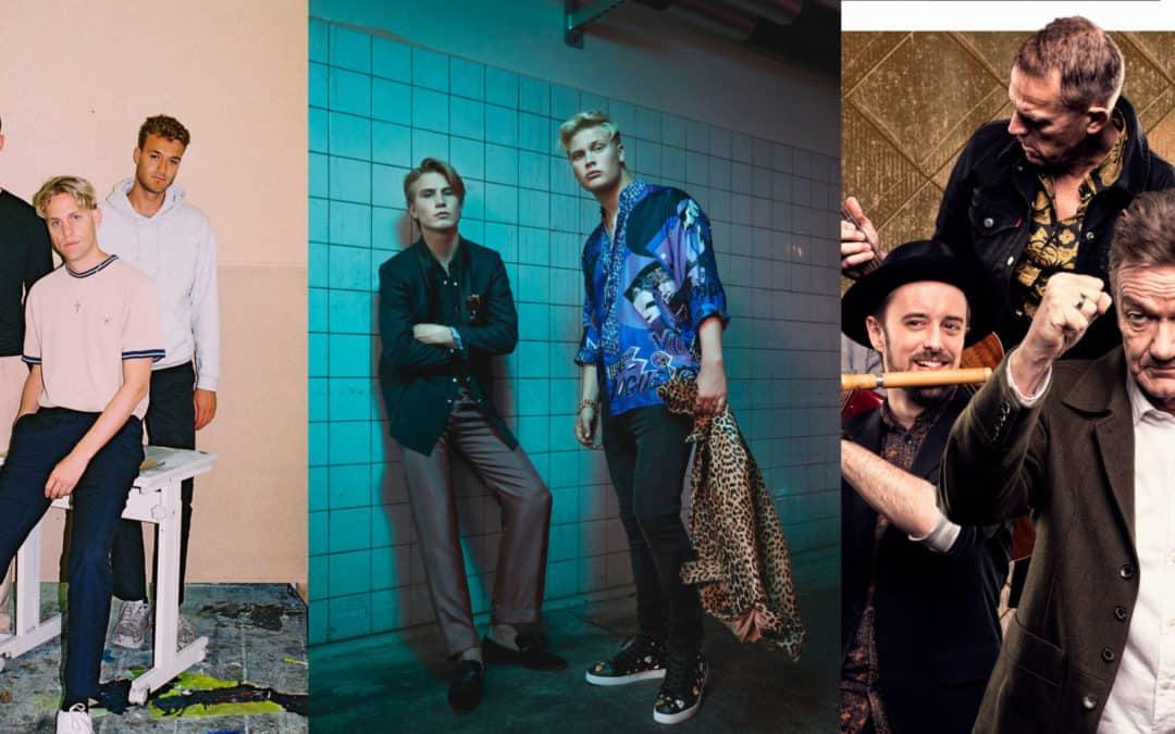 Scarlet Pleasure, Citybois og Lars Lilholt Band til Vordingborg Festuge 2018