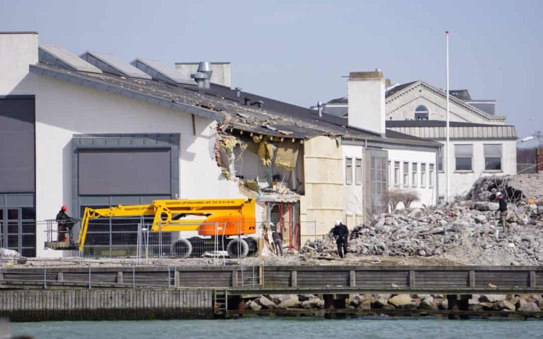 Silo ramte bibliotek – sådan ser der ud dagen derpå