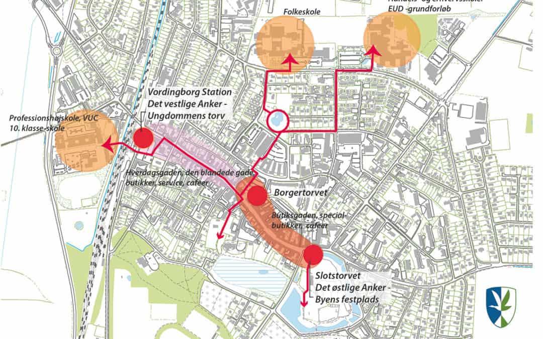 Vordingborg får 7,8 mio. kroner fra Realdania til udvikling af stationsområdet