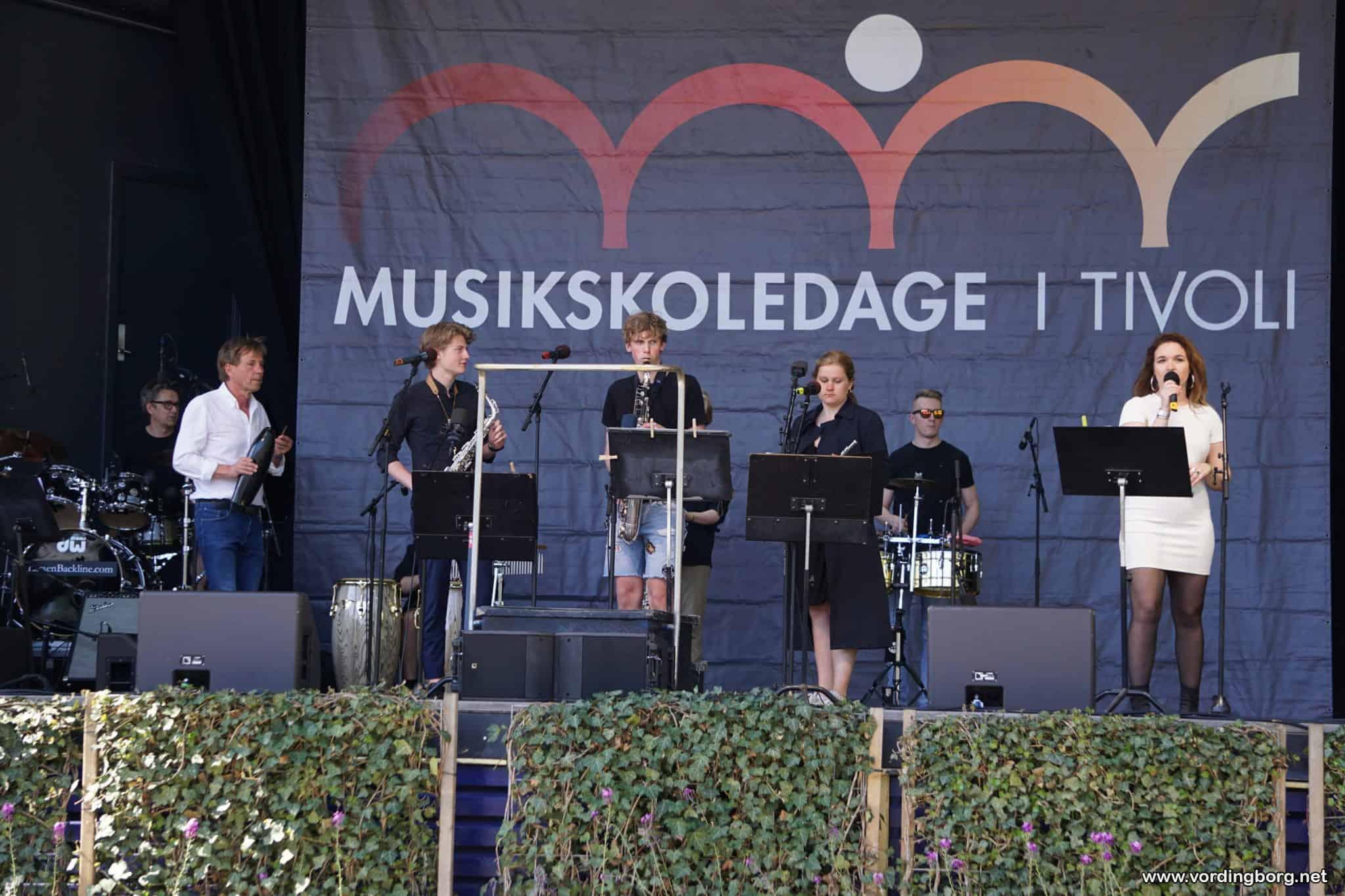 Vordingborg Musikskole deltog i Musikskoledage i Tivoli i København