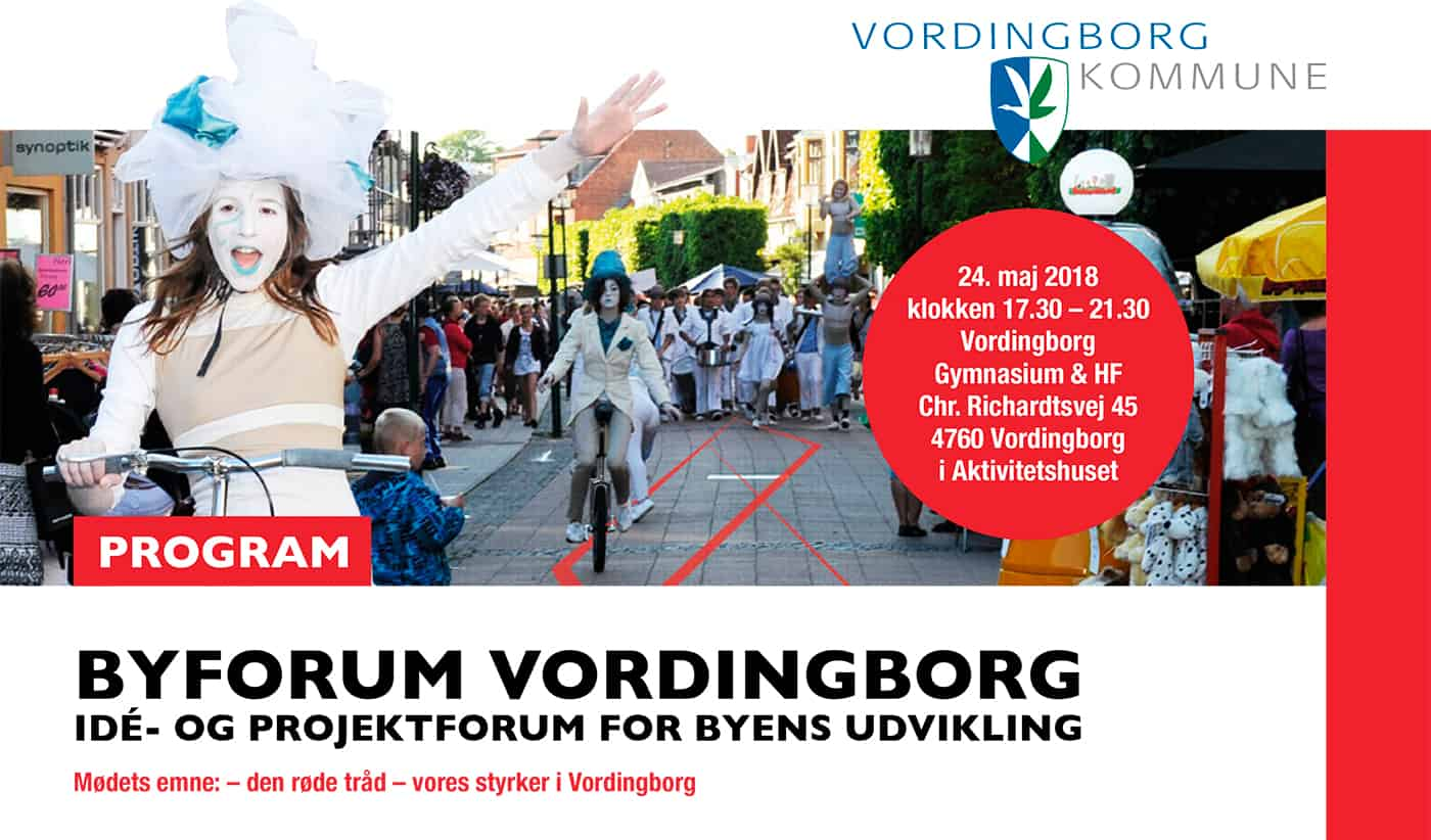 Møde i Byforum Vordingborg d. 24. maj 2018