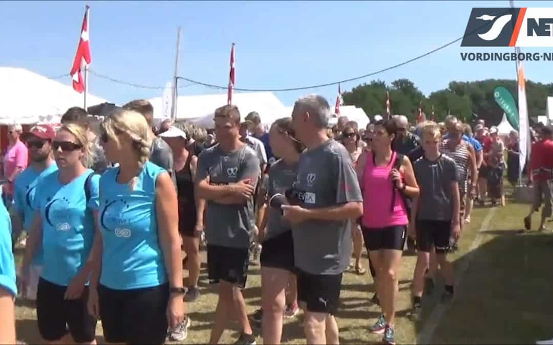 Stafet for livet 2018 i Vordingborg – Se video