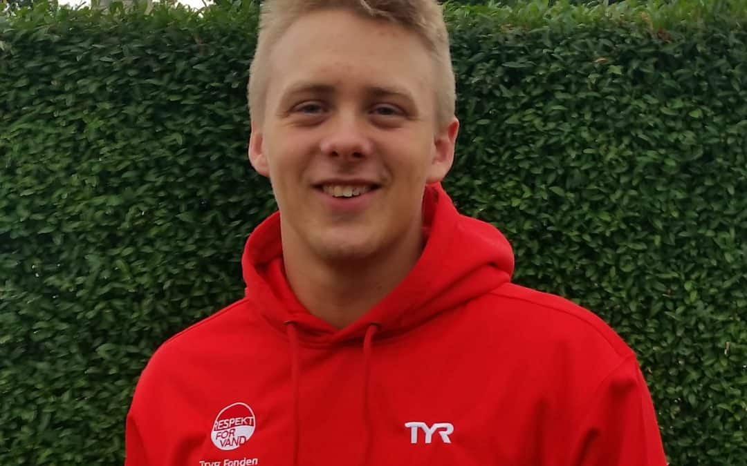 Svømmer fra Mern har deltaget i Europæisk junior mesterskab