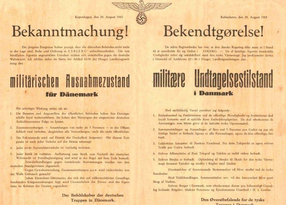 Foredrag om augustoprøret under 2. verdenskrig